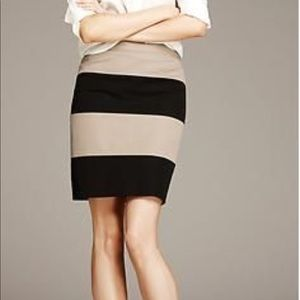 Banana Republic Sloan Rugby Skirt